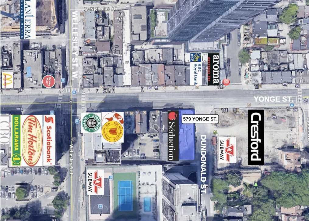 579 Yonge St, Toronto, Ontario M4Y1Z2, ,Investment,For Sale,Yonge,C5255346