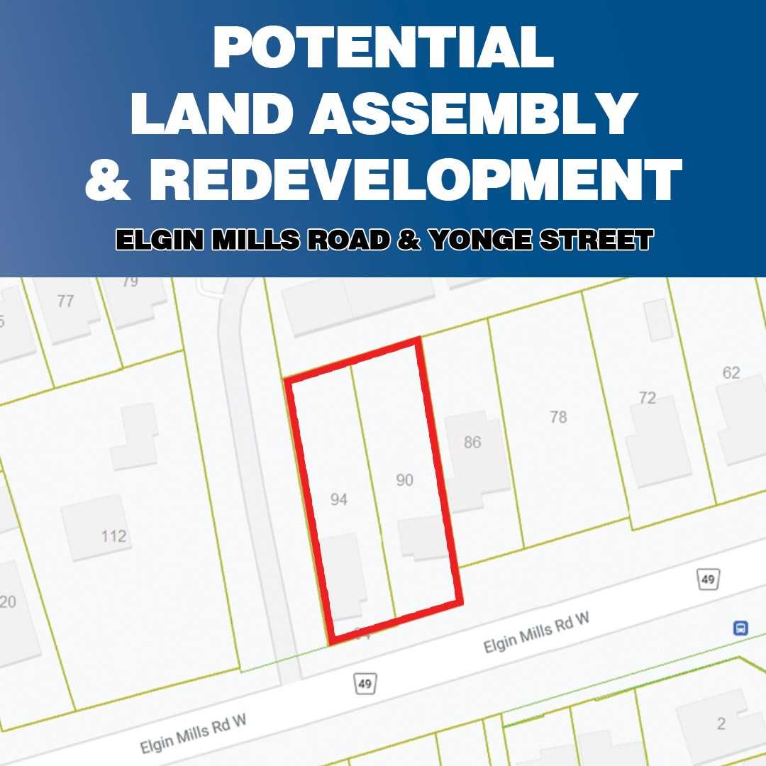 Detached house For Sale In Richmond Hill - 90 & 94 Elgin Mills Rd, Richmond Hill, Ontario, Canada L4C 4M2 , 3 Bedrooms Bedrooms, ,2 BathroomsBathrooms,Detached,For Sale,Elgin Mills