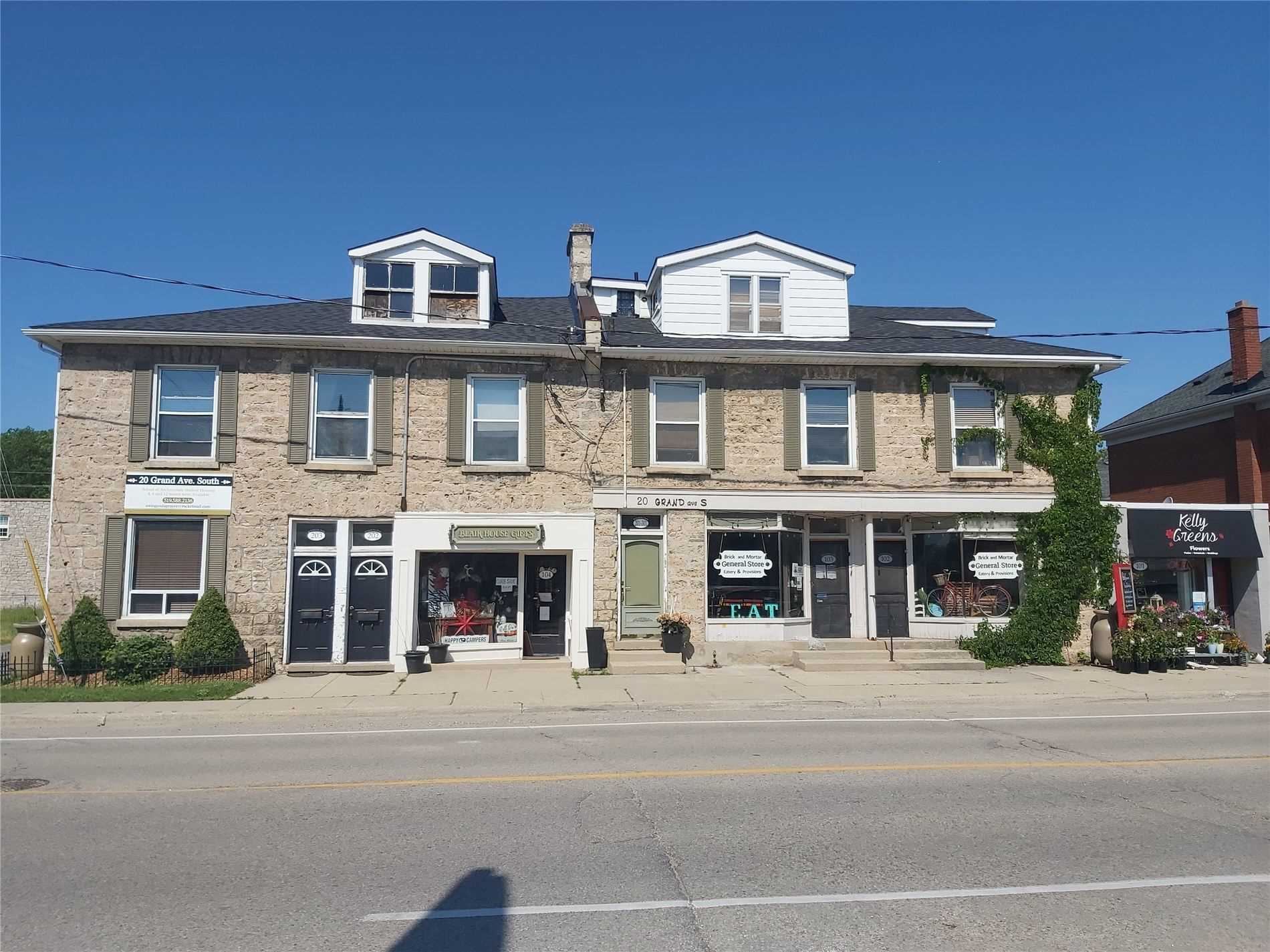 Store W/apt/office For Sale In Cambridge
