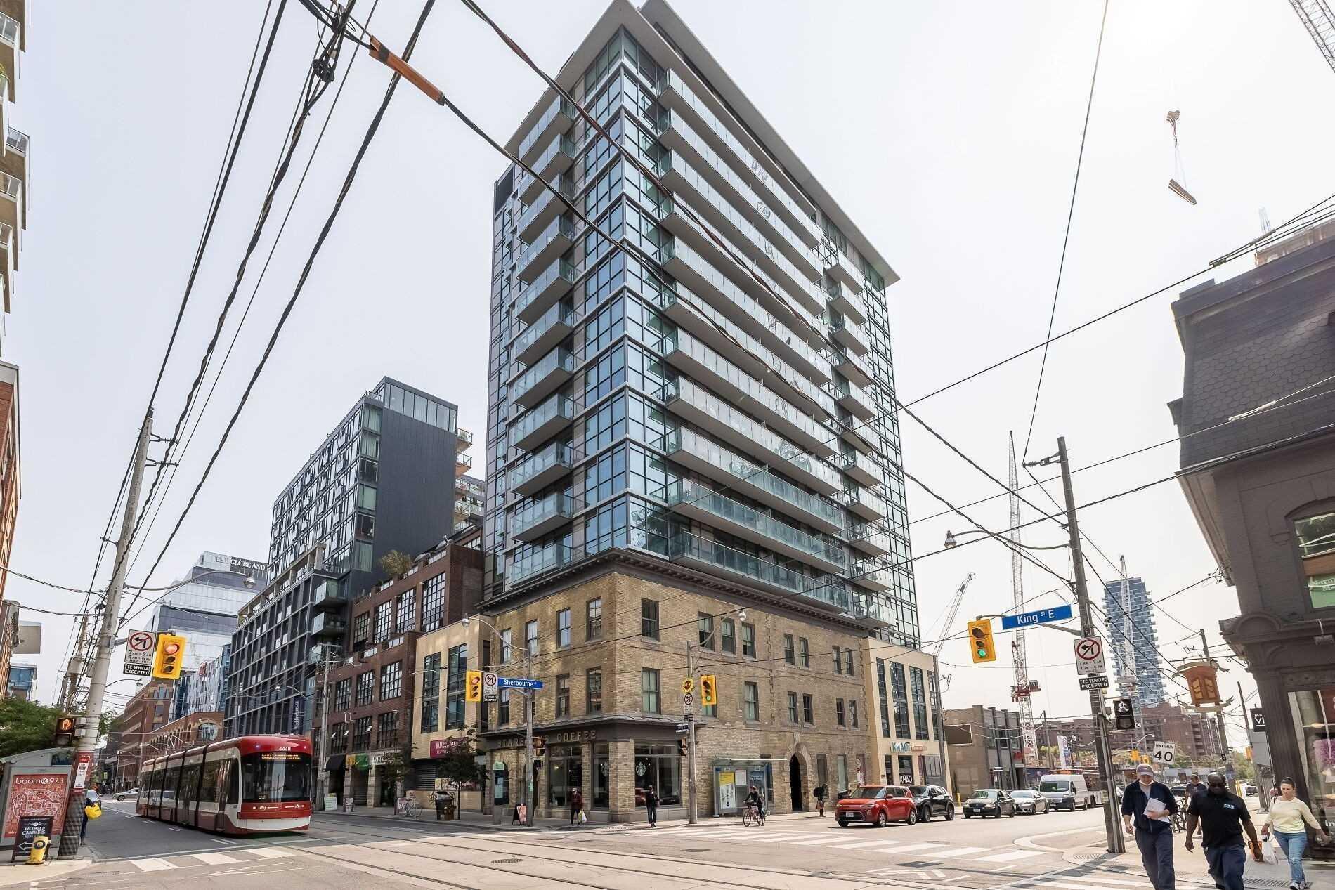 Condo Apt For Lease In Toronto , 1 Bedroom Bedrooms, ,1 BathroomBathrooms,Condo Apt,For Lease,907,Sherbourne