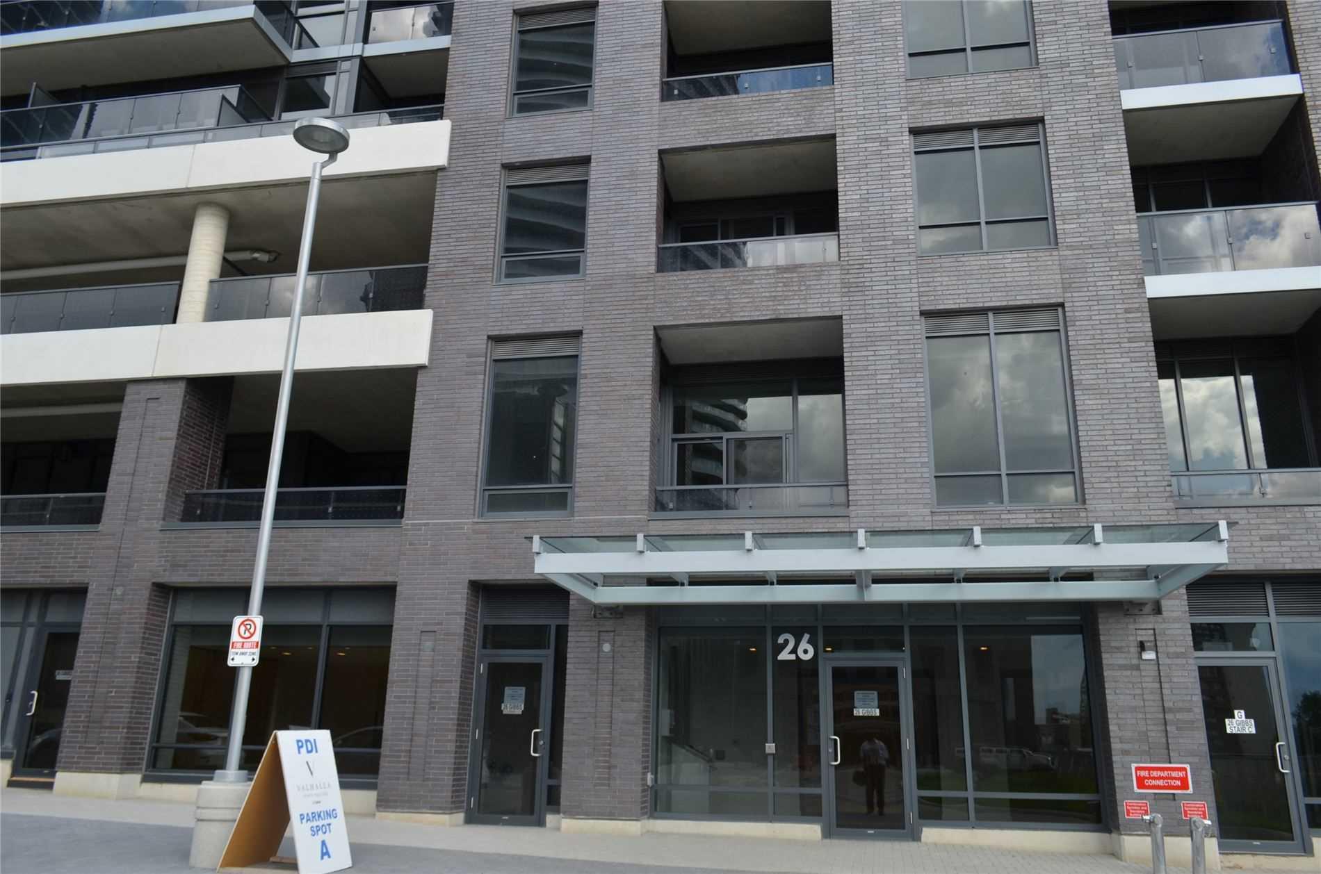 Condo Apt For Lease In Toronto , 2 Bedrooms Bedrooms, ,2 BathroomsBathrooms,Condo Apt,For Lease,545,Gibbs