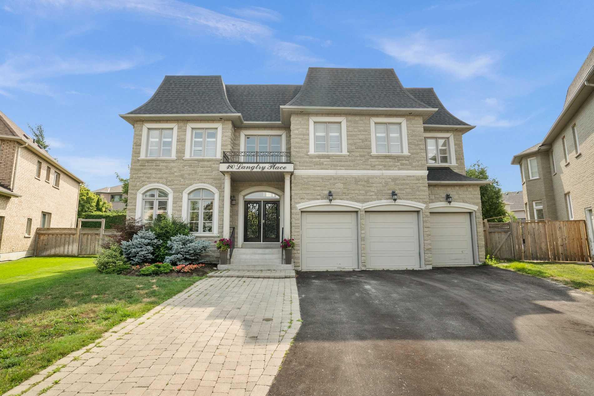 Detached house For Sale In Vaughan - 180 Langtry Pl, Vaughan, Ontario, Canada L4J8L6 , 5 Bedrooms Bedrooms, ,5 BathroomsBathrooms,Detached,For Sale,Langtry
