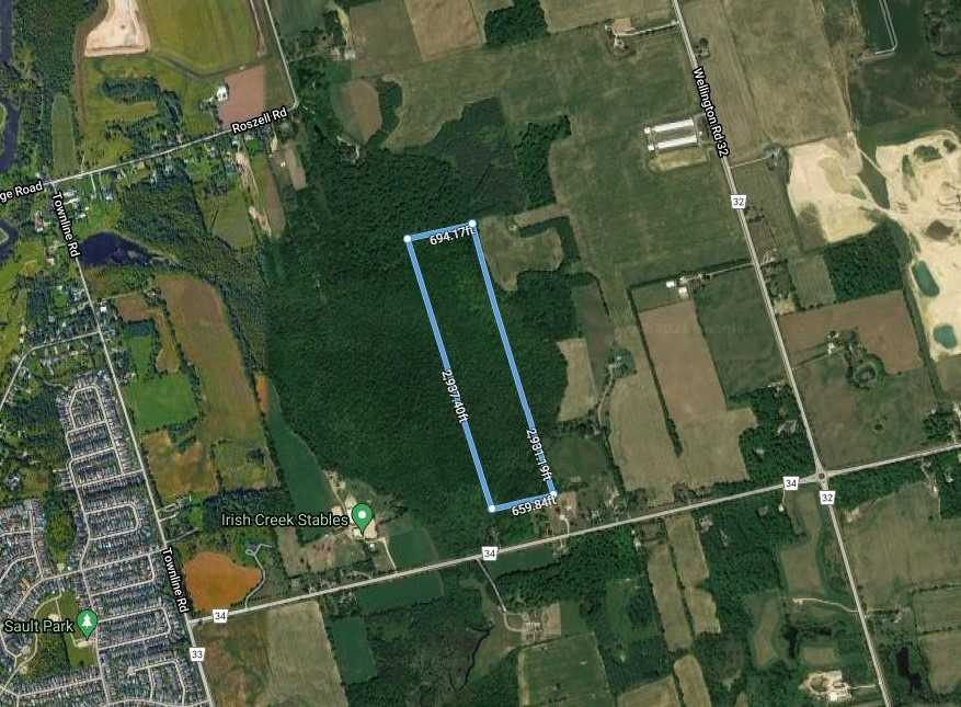 Vacant Land For Sale In Puslinch , ,Vacant Land,For Sale,Wellington Road 34