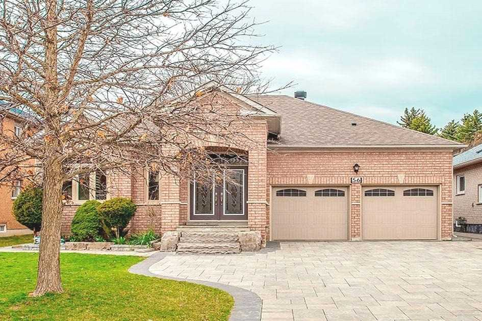 Detached house For Sale In Markham - 56 Sabiston Dr, Markham, Ontario, Canada L3R2B5 , 3 Bedrooms Bedrooms, ,4 BathroomsBathrooms,Detached,For Sale,Sabiston