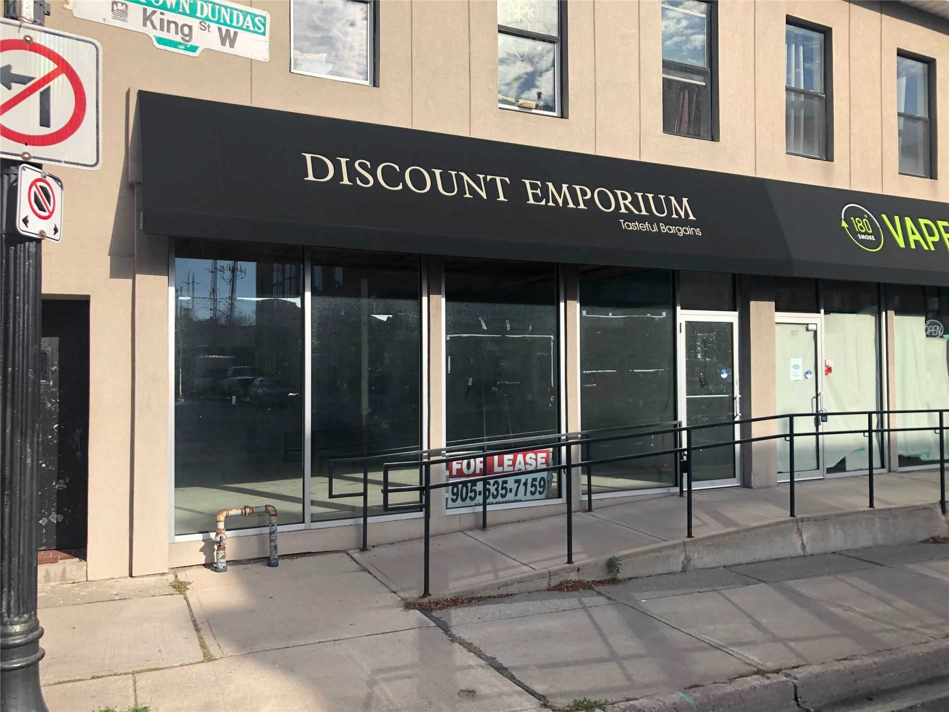 Commercial/retail For Lease In Hamilton , ,Commercial/retail,For Lease,King