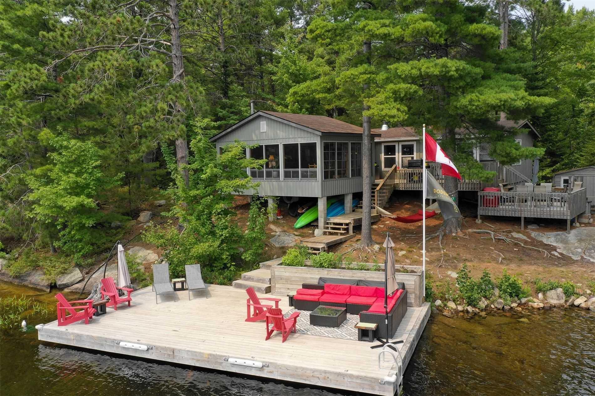 Cottage For Sale In Addington Highlands , 3 Bedrooms Bedrooms, ,2 BathroomsBathrooms,Cottage,For Sale,Weslemkoon Lake