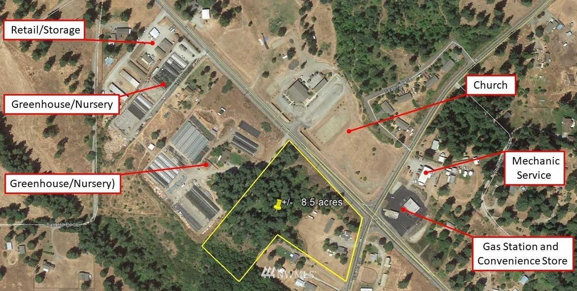 11519 Vail Road, Yelm, Washington 98597, ,Commercial Sale,For Sale,Vail,NWM1821309