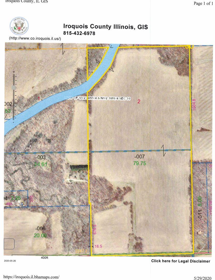 2532 1900 North Road, Sheldon, Illinois 60966, ,Farm,For Sale,1900 North,MRD10730050