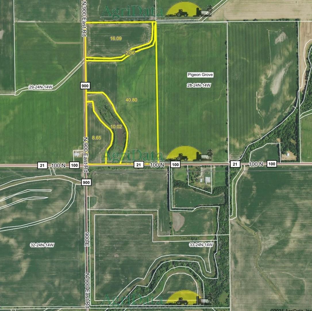 Corner of 900 100 North Road, Rankin, Illinois 60960, ,Farm,For Sale,100 North,MRD11031017