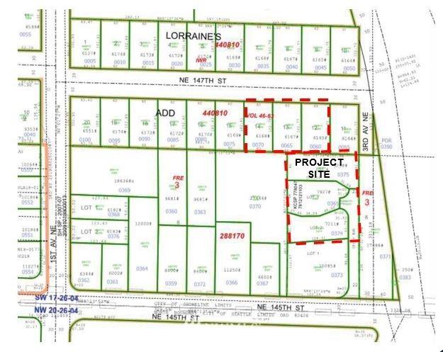 139 147th Street, Shoreline, Washington 98155, ,Land,For Sale,147th,NWM1832227