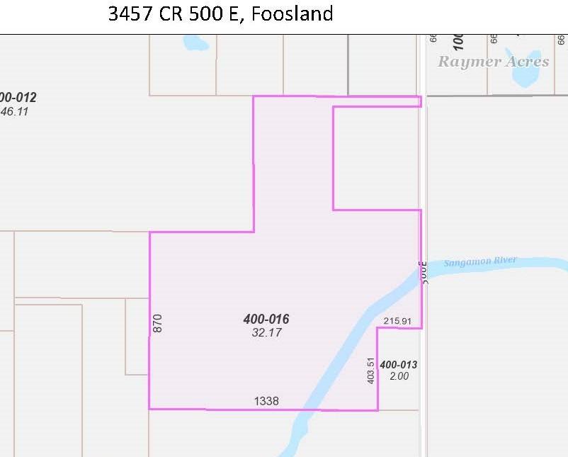 3457 CR 500, Foosland, Illinois 61845, ,Farm,For Sale,CR 500,MRD11211215