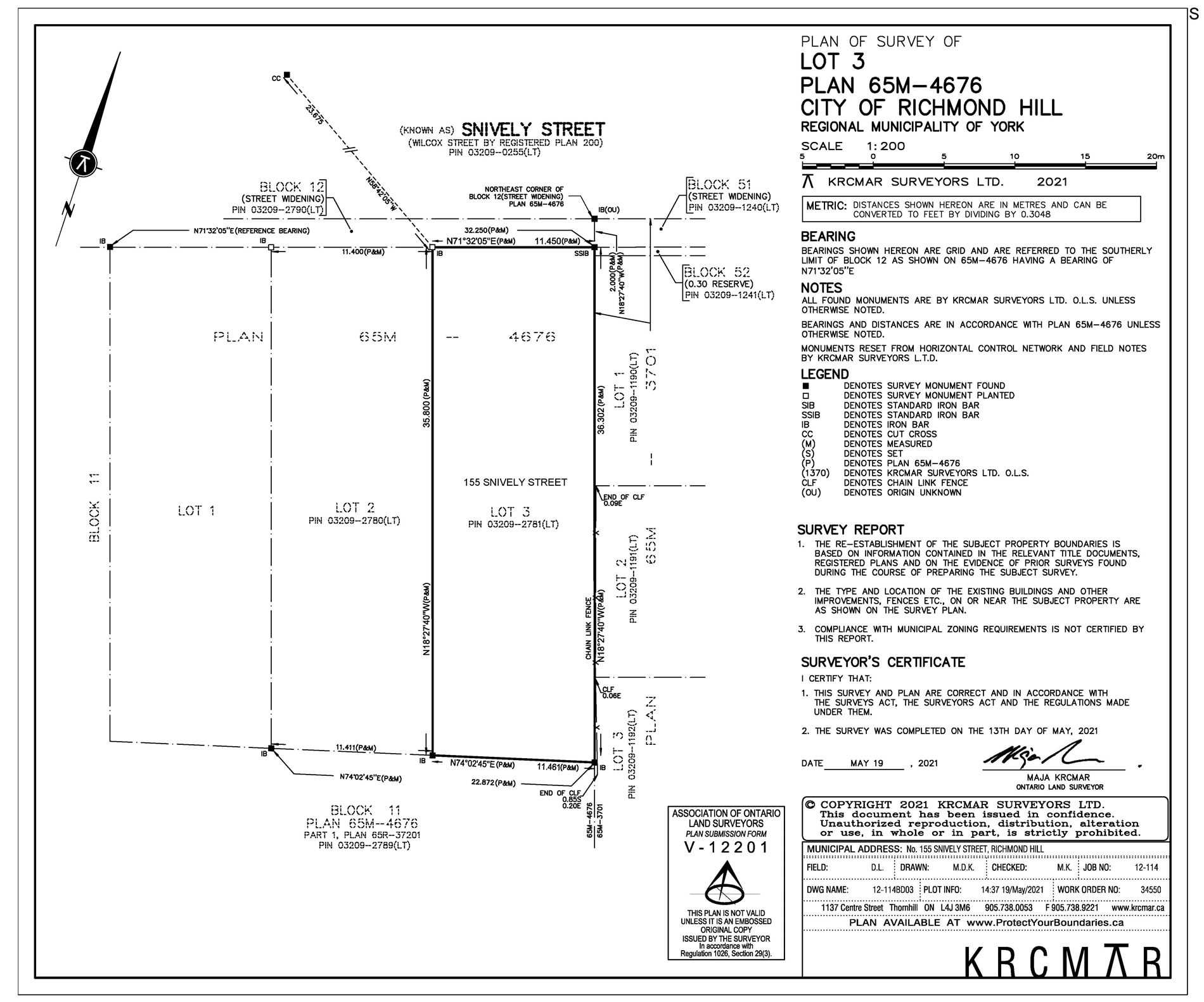 Vacant Land For Sale In Richmond Hill , ,Vacant Land,For Sale,Snively