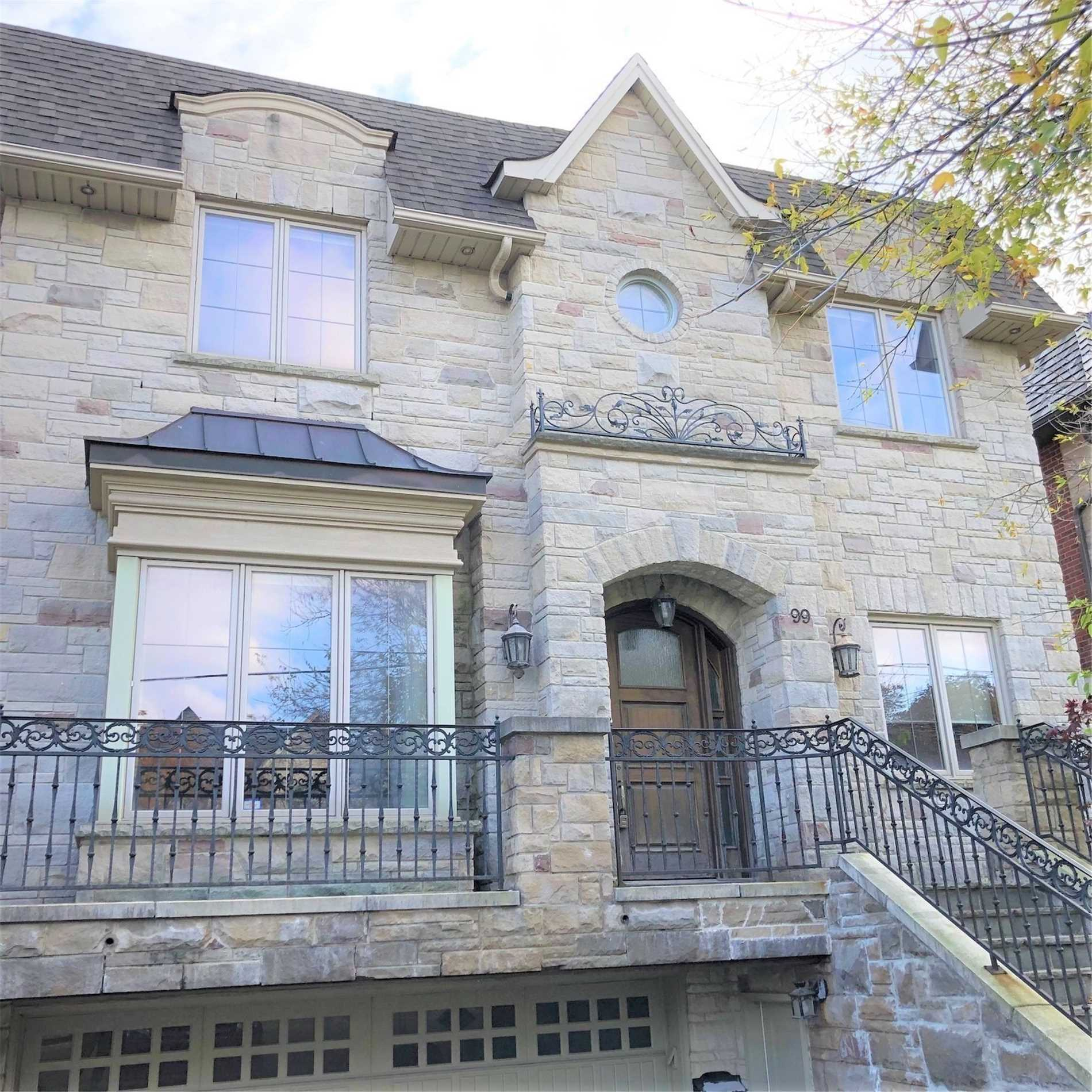 Detached house For Lease In Toronto - 99 Bannockburn Ave, Toronto, Ontario, Canada M5M2M9 , 4 Bedrooms Bedrooms, ,6 BathroomsBathrooms,Detached,For Lease,Bannockburn