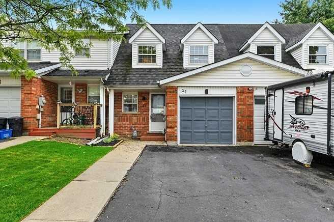 22 Hartley Crt, Cambridge, Ontario N1R 8J4, 3 Bedrooms Bedrooms, ,2 BathroomsBathrooms,Att/row/twnhouse,For Sale,Hartley,X5373344