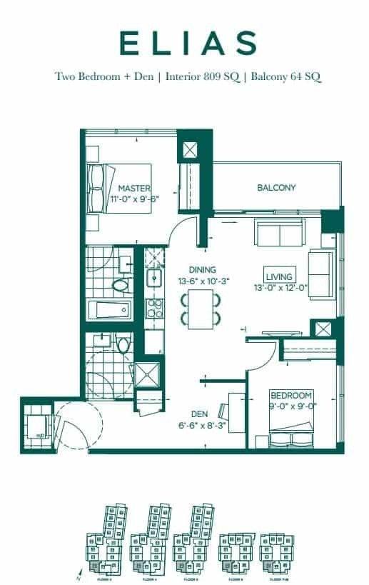 Condo Apt For Sale In Toronto , 2 Bedrooms Bedrooms, ,2 BathroomsBathrooms,Condo Apt,For Sale,2210,Forest Manor