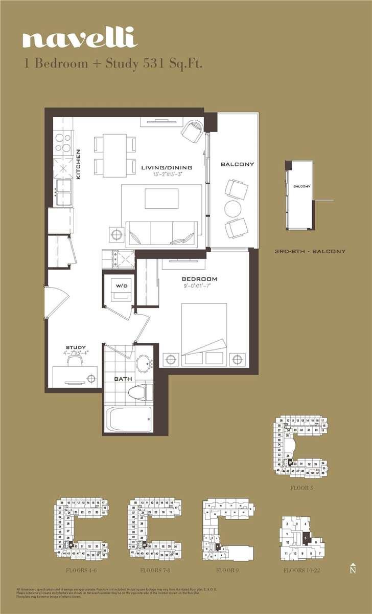 Condo Apt For Lease In Toronto , 1 Bedroom Bedrooms, ,1 BathroomBathrooms,Condo Apt,For Lease,905,Lawrence