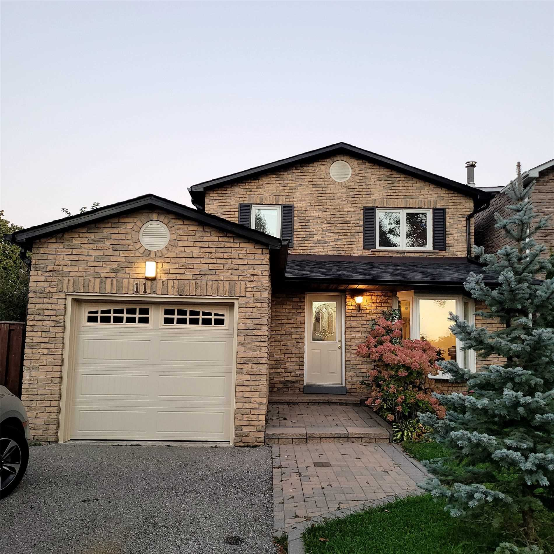 Detached house For Lease In Markham - 11 Tunney Cres, Markham, Ontario, Canada L3P4L4 , 3 Bedrooms Bedrooms, ,3 BathroomsBathrooms,Detached,For Lease,Tunney