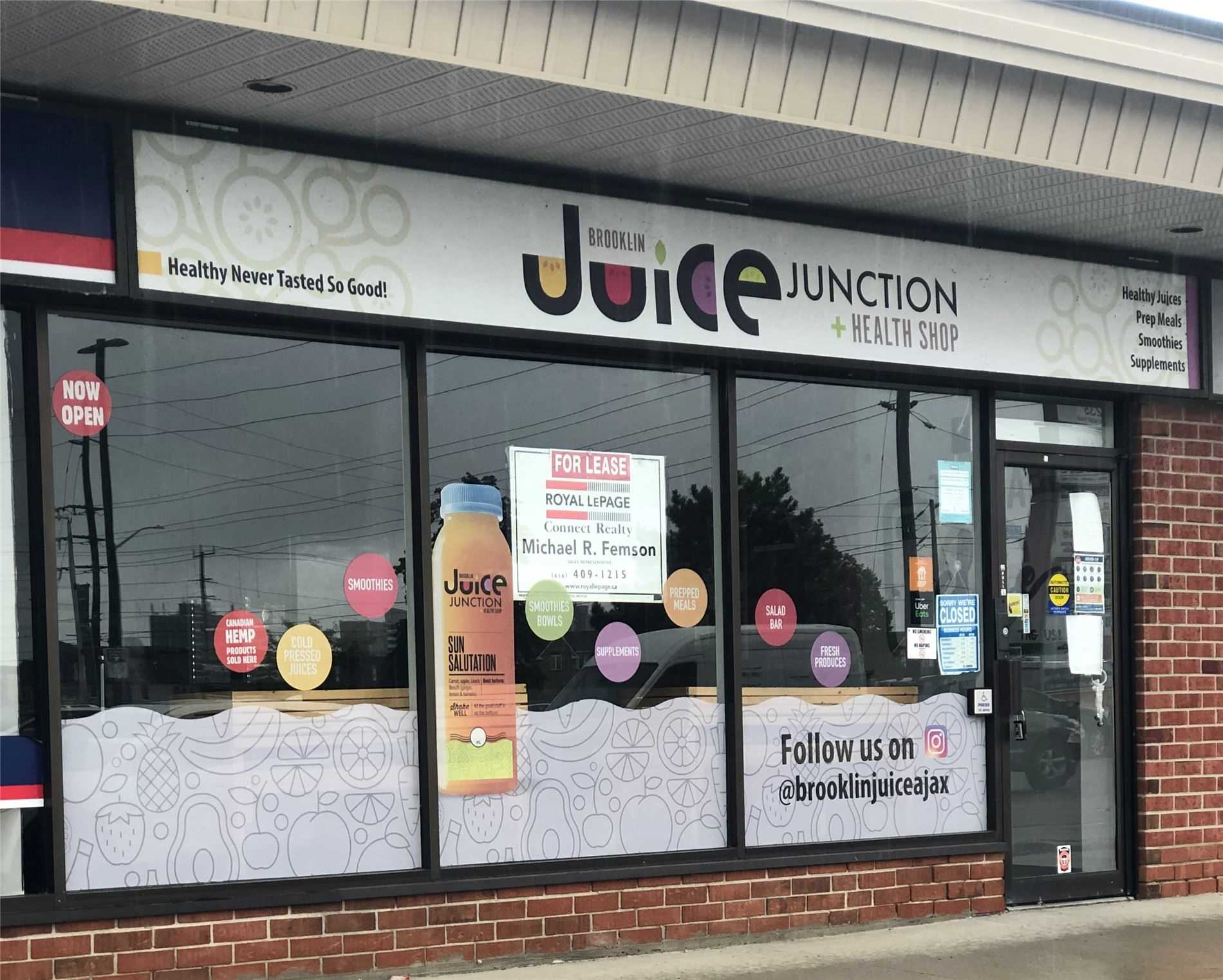Commercial/retail For Sale In AJAX