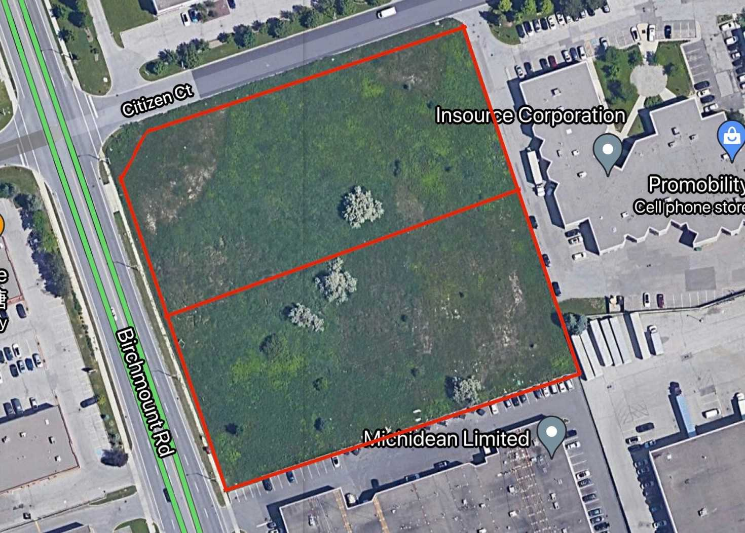 Land For Sale In Markham , ,Land,For Sale,Birchmount