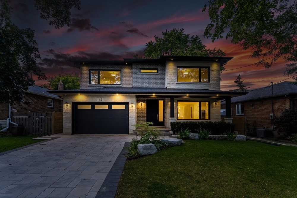 Detached house For Sale In Toronto - 92 Mervyn Ave, Toronto, Ontario, Canada M9B1N7 , 4 Bedrooms Bedrooms, ,5 BathroomsBathrooms,Detached,For Sale,Mervyn