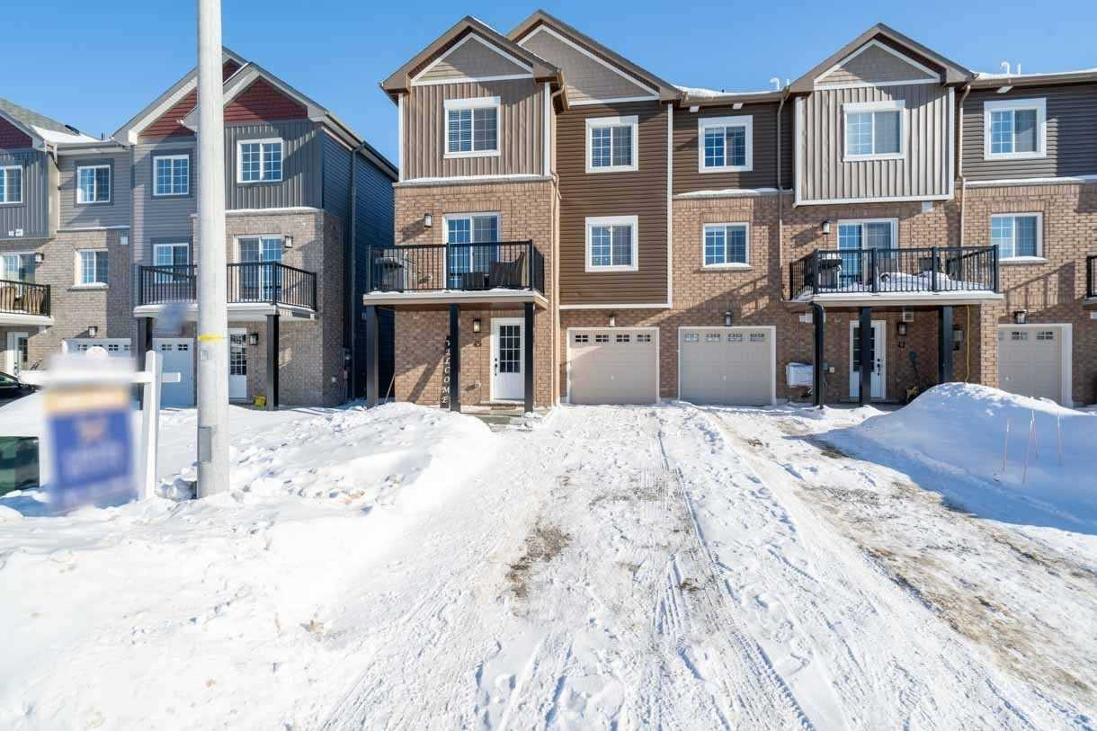 Att/row/twnhouse For Lease In Barrie