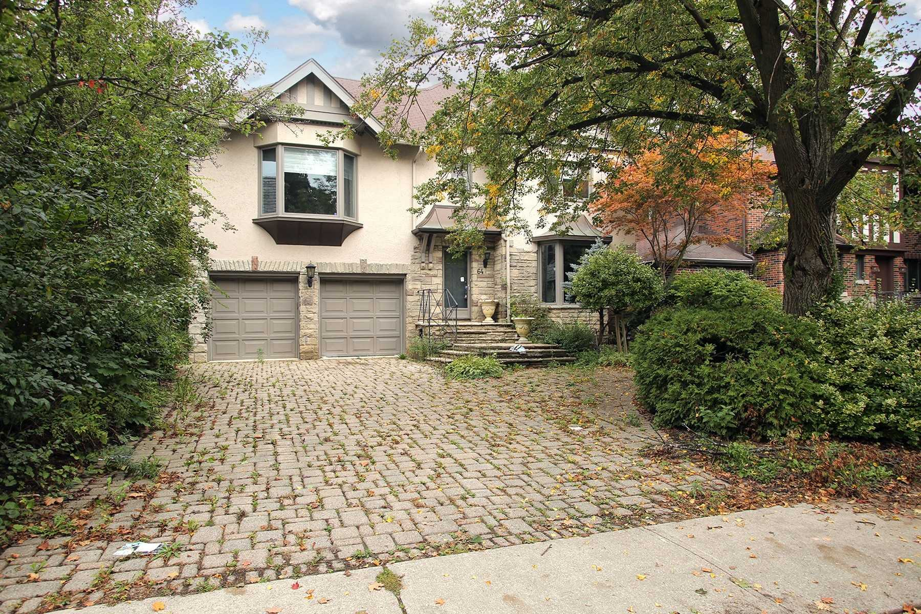 Detached house For Lease In Toronto - 64 Cheltenham Ave, Toronto, Ontario, Canada M4N1P7 , 4 Bedrooms Bedrooms, ,4 BathroomsBathrooms,Detached,For Lease,Cheltenham
