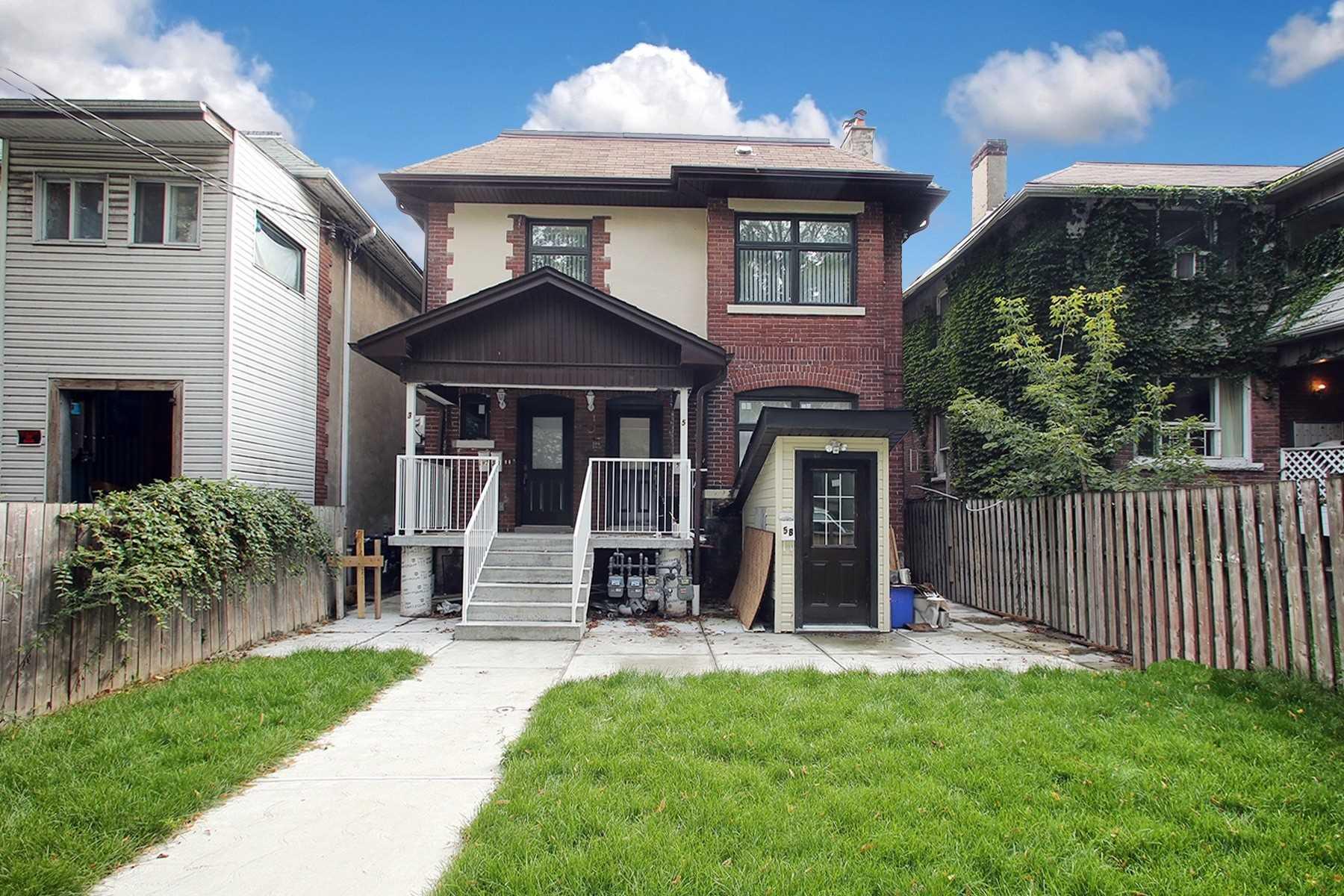 3, 5 Temple Ave, Toronto, Ontario M6K1C7, 9 Bedrooms Bedrooms, 18 Rooms Rooms,6 BathroomsBathrooms,Multiplex,For Sale,Temple,W5399076