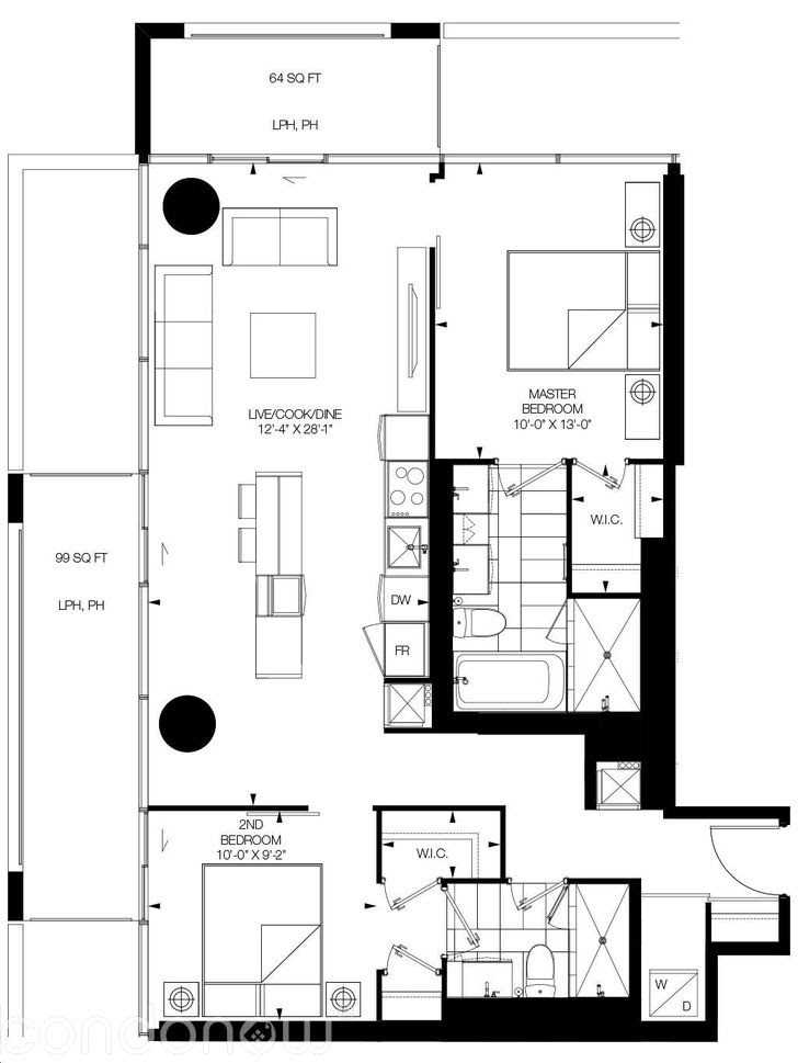 Condo Apt For Sale In Toronto , 2 Bedrooms Bedrooms, ,2 BathroomsBathrooms,Condo Apt,For Sale,Ph3406,Soudan