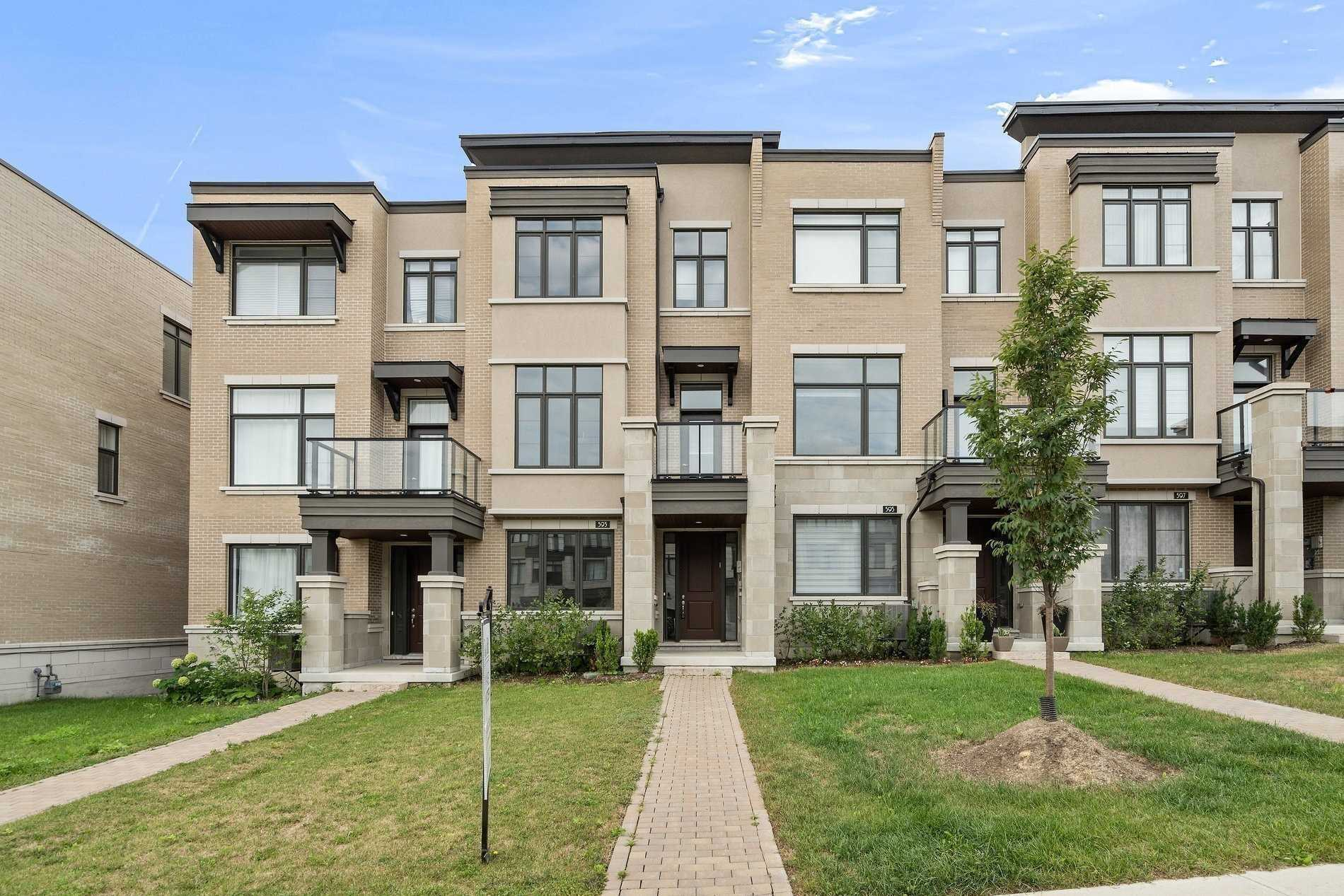 Att/row/twnhouse For Sale In Vaughan
